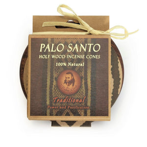 Palo Santo Kit Traditional Cones with Burner