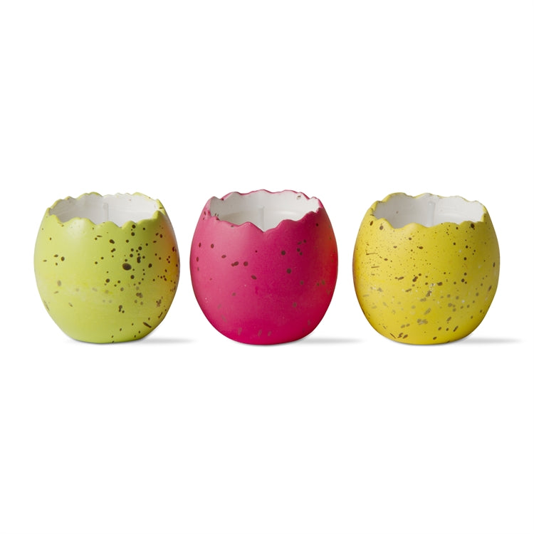 Cracked Egg Candle S/3