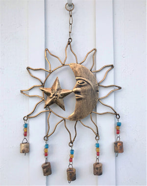 Celestial Brass Wind Chime