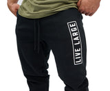 Black Block Sweatpants