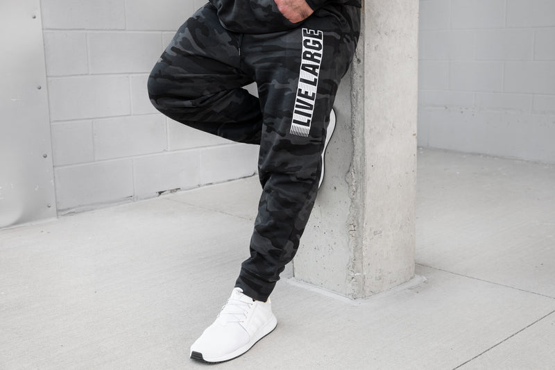 Blackout Camo Sweatpants