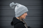 Grey Winter Beanie