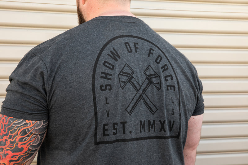 Charcoal Show Of Force Tee