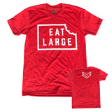 Eat Large Logo - Red