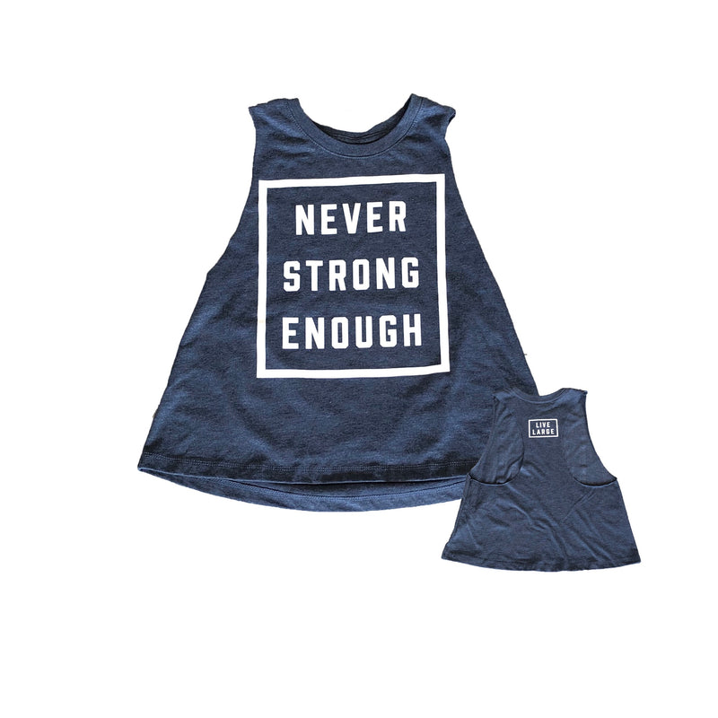 Women's NSE Muscle Crop - Navy