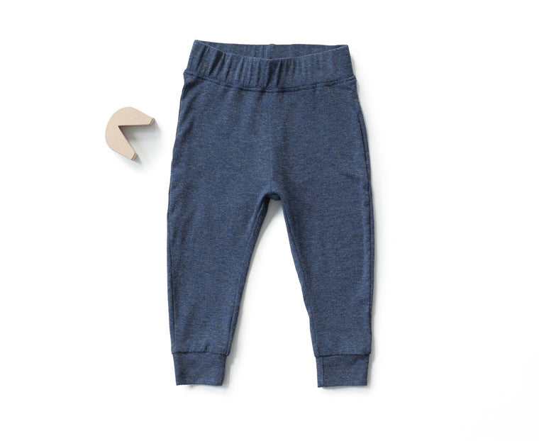 Go To Pants in Heather Navy (Infant)