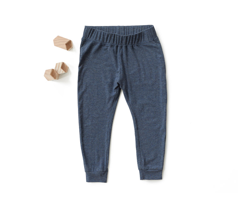 Go To Pants in Heather Navy (Toddler)