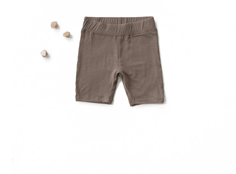 Go To Shorts in Fungi Brown (Toddler)