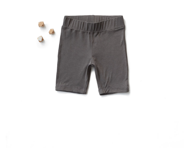 Go To Shorts in Charcoal (Toddler)