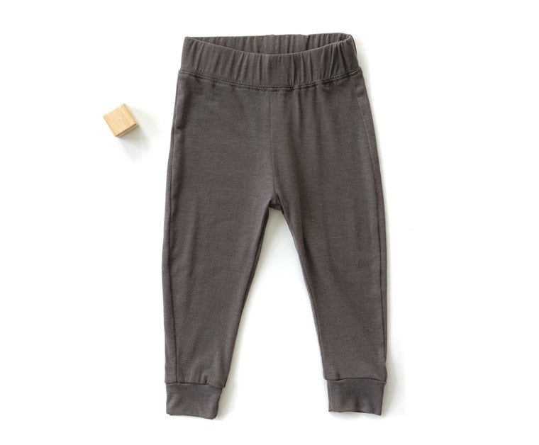 Go To Pants in Charcoal (Infant)