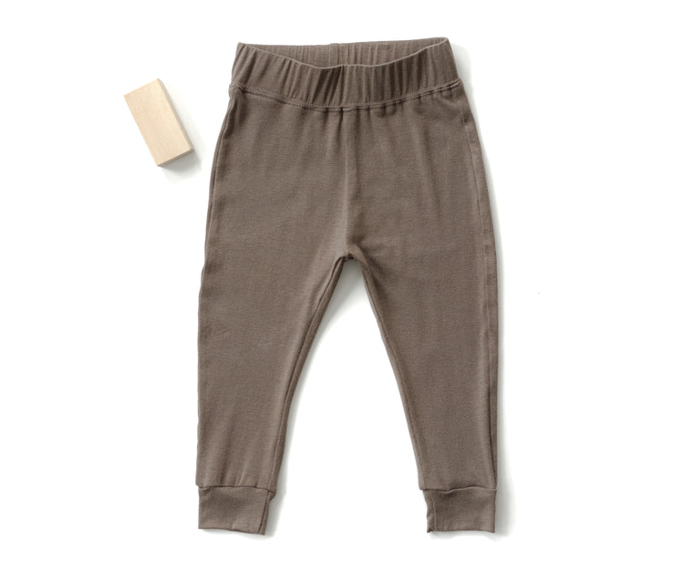 Go To Pants in Fungi Brown (Infant)