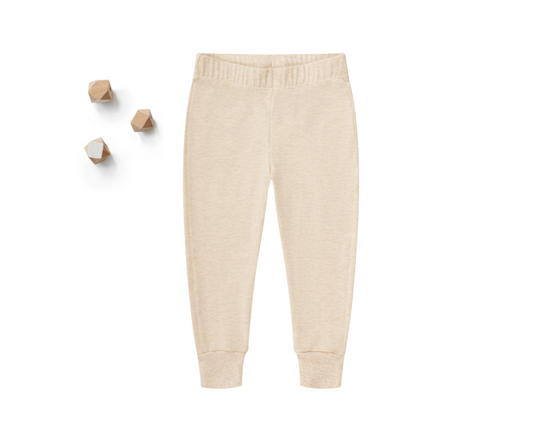 Little Lounge Pants in Heather Beige