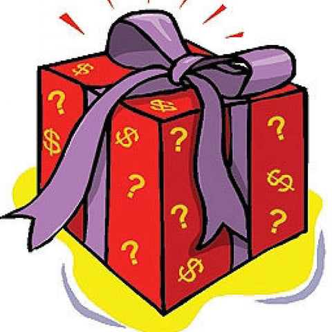 Mystery bag for boys with two outfits! One spring/summer and one Christmas- surprise!