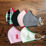 Ladies Small/Med Face Mask - Adjustable Elastic