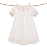 Smocked Cross Bishop Dress