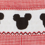 Smocked Jon Jon - Mouse Ears Shortall
