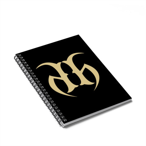 Hustle Harder Spiral Notebook