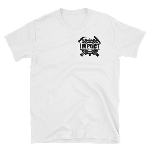 Impact Maintenance (Black) Unisex T-Shirt