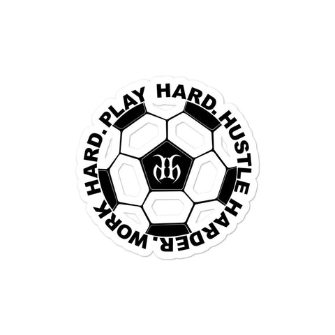 Soccer Bubble Free Stickers