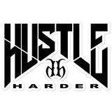 Hustle Harder Bubble Free Stickers
