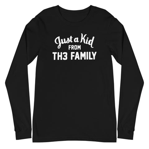 Just A Kid From Th3 Family Unisex Long Sleeve