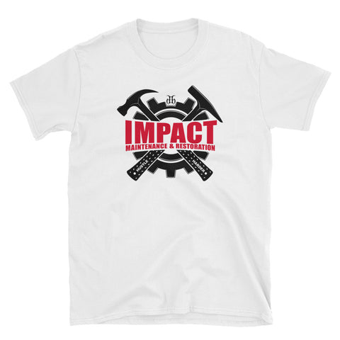 Impact Maintenance (Black/Red) Unisex T-Shirt