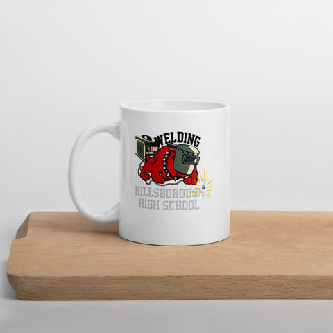 HHS Welding Red Black Mug