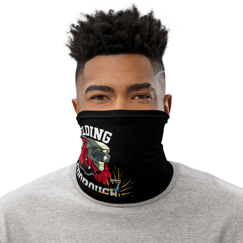 HHS Welding Red Black Neck Gaiter