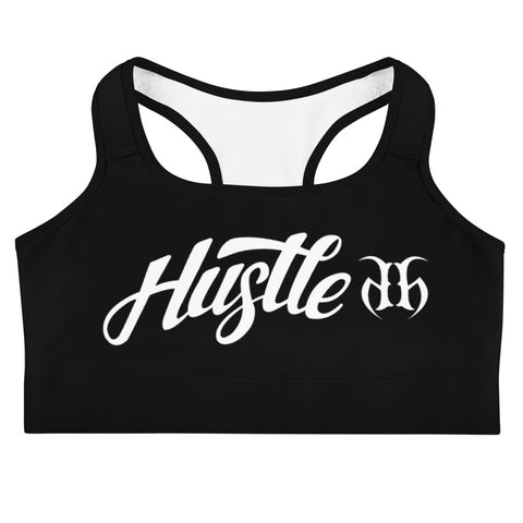 Hustle Autograph (White) Sports Bra