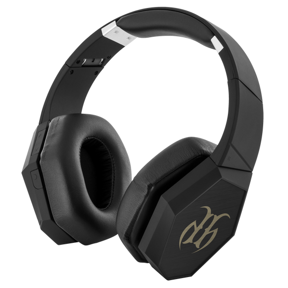 Hustle Harder Bluetooth Headphones BLK/Gold HH