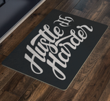 Hustle Harder Autograph Doormat
