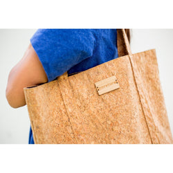Corature Cork Tote with Bamboo