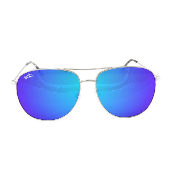 Aviator Stingray Blue Mirror