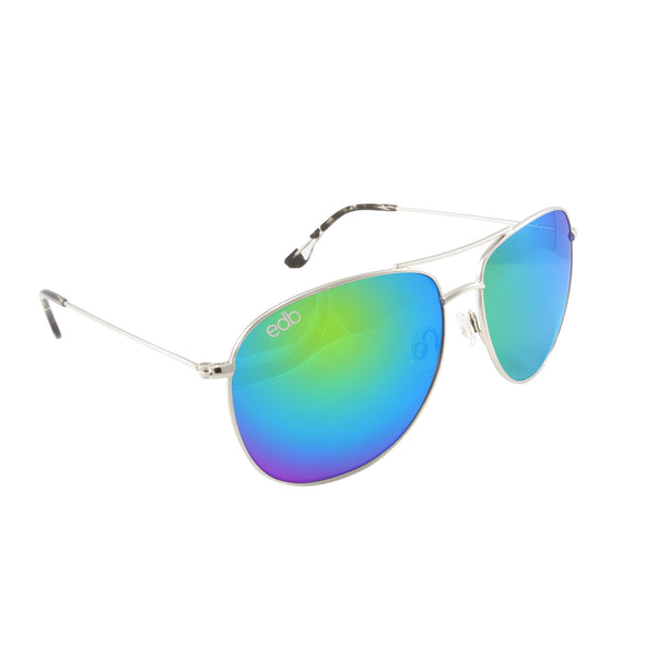 Aviator Stingray Green Mirror