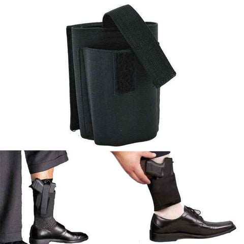 Universal Ankle Holster For Hand Guns Ruger, Shield, XDS, Glock 42 43 26 27, Sccy, Taurus, Sig Sauer, S&W
