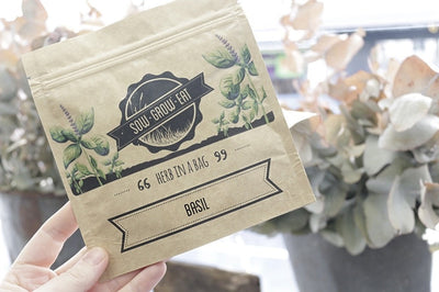 Sow Grow Eat | Herb in a Bag | The Food Repository