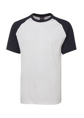 JBs Two tone tee - Workwear Warehouse