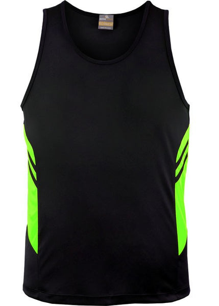 Tasman kids Hi Viz singlet - Workwear Warehouse