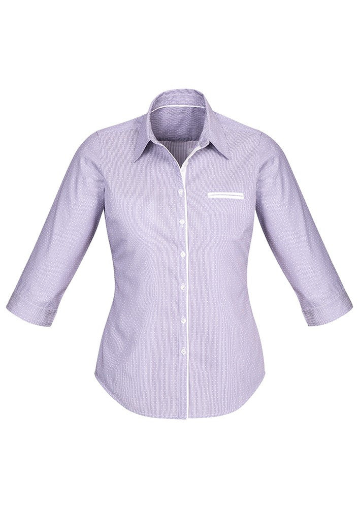 BC Ladies Calais 3/4 Sleeve Shirt - Workwear Warehouse