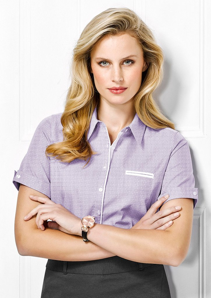 BC Ladies Calais S/S Shirt - Workwear Warehouse