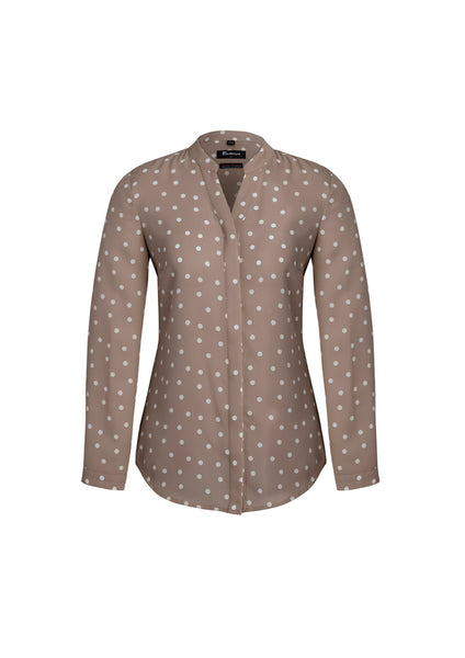 BC Juliette Spot Print long Sleeve Blouse