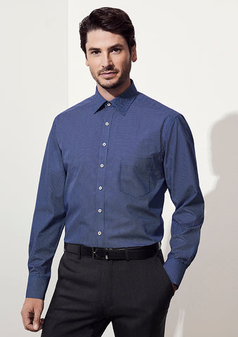 BC Mens Oscar Long Sleeve Shirt - Workwear Warehouse