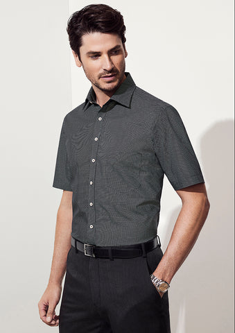 BC Mens Oscar Short Sleeve Shirt - Workwear Warehouse