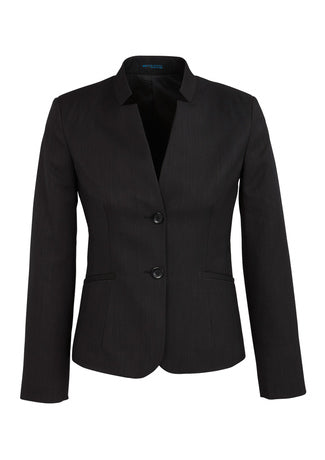 BC Ladies Reverse Lapel Jacket - Cool Stretch