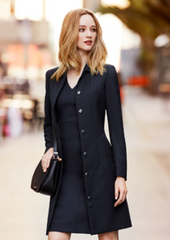 BC Ladies Overcoat - Wool mix - Workwear Warehouse