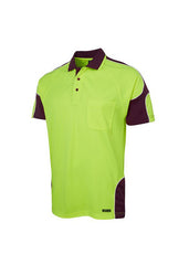 JBs Hi Vis Arm Panel Polo - Workwear Warehouse