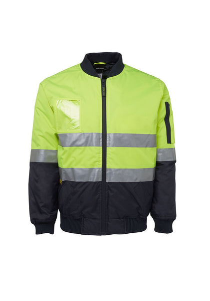 JB'S Hi Vis (D+N) Flying Jacket - Workwear Warehouse