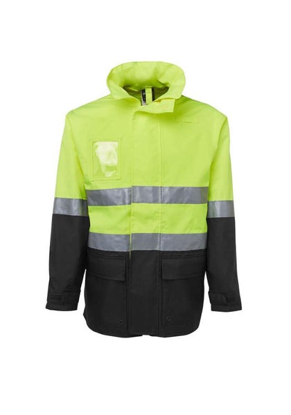 JB'S Hi Vis (D+N) Long Line Jacket - Workwear Warehouse