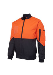 Hi Vis Flying Jacket - Workwear Warehouse