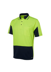 JBs Hi Vis S/S Gap Polo - Workwear Warehouse